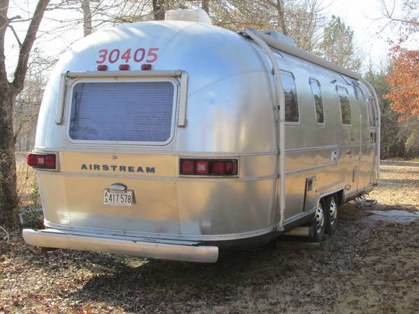 1975 Airstream Sovereign 31ft Travel Trailer For Sale In