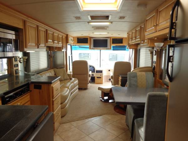 2007 Airstream Land Yacht Bus Xl 396 39 Ft For Sale In