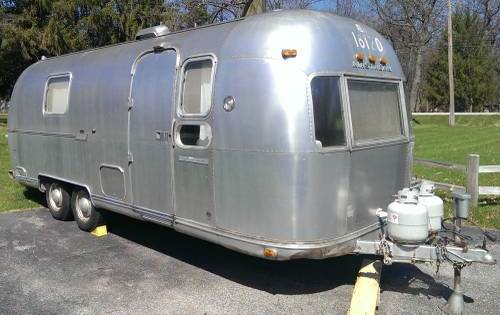 1974 airstream land yacht 24 ft for sale in granger indiana 3 750. Black Bedroom Furniture Sets. Home Design Ideas