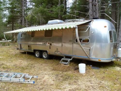 1974 airstream land yacht 31 foot for sale in gustavus alaska. Black Bedroom Furniture Sets. Home Design Ideas
