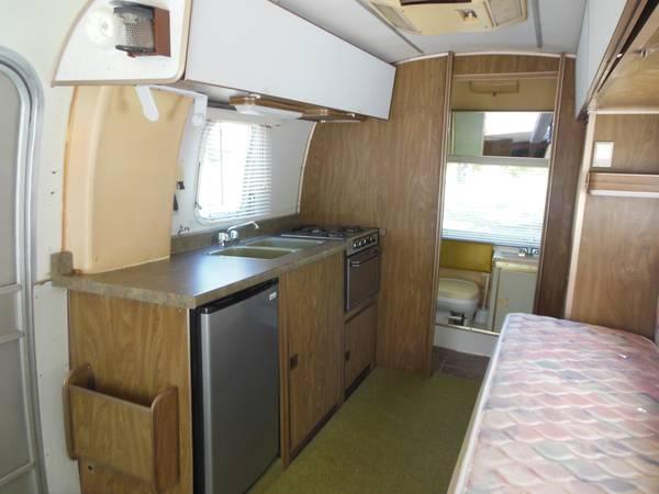 1974 Used Argosy Airstream Trailer For Sale In Jasper