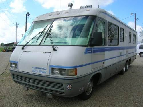 1992 airstream land yacht motorhome for sale in mt vernon texas. Black Bedroom Furniture Sets. Home Design Ideas