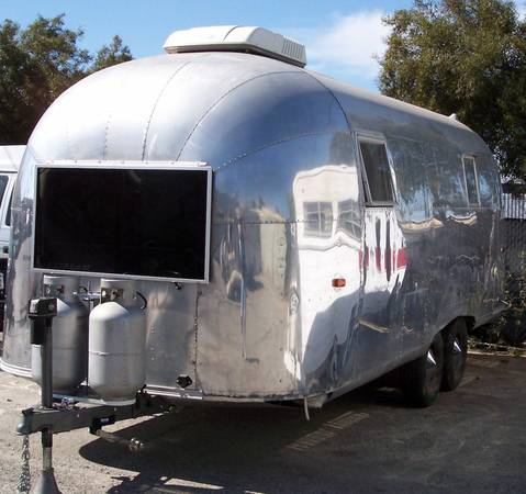 1960 Airstream Tradewind 24ft Travel Trailer For Sale In Riverside Ca
