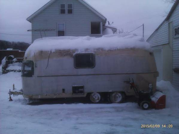 1972 Airstream Argosy 22FT Travel Trailer For Sale in Torrington, CT