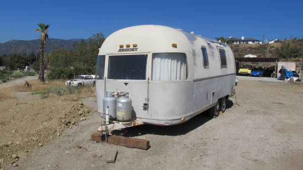 1974 Airstream Argosy 28ft Travel Trailer For Sale In San