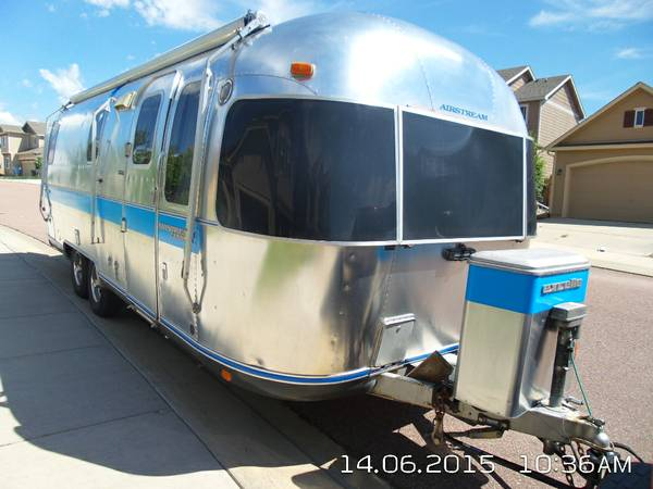 1992 Airstream 25FT Travel Trailer For Sale in Fountain, CO