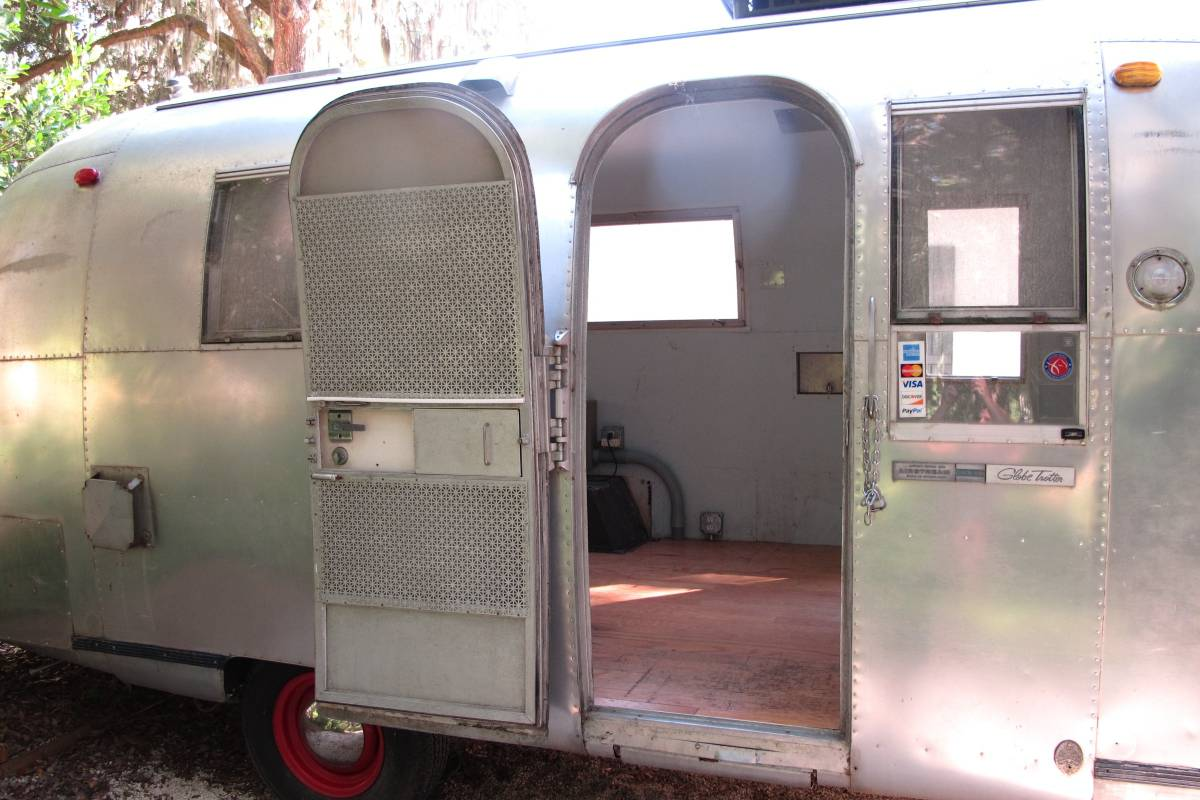 1966 Airstream Globetrotter 20FT Travel Trailer For Sale ...