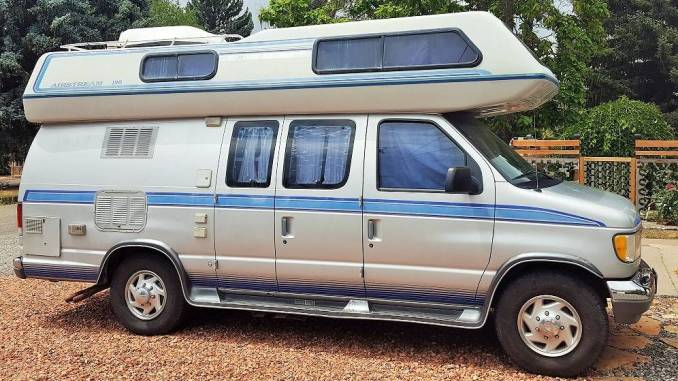 1995 Airstream Ford B190 Class B Camper Van For Sale in ...